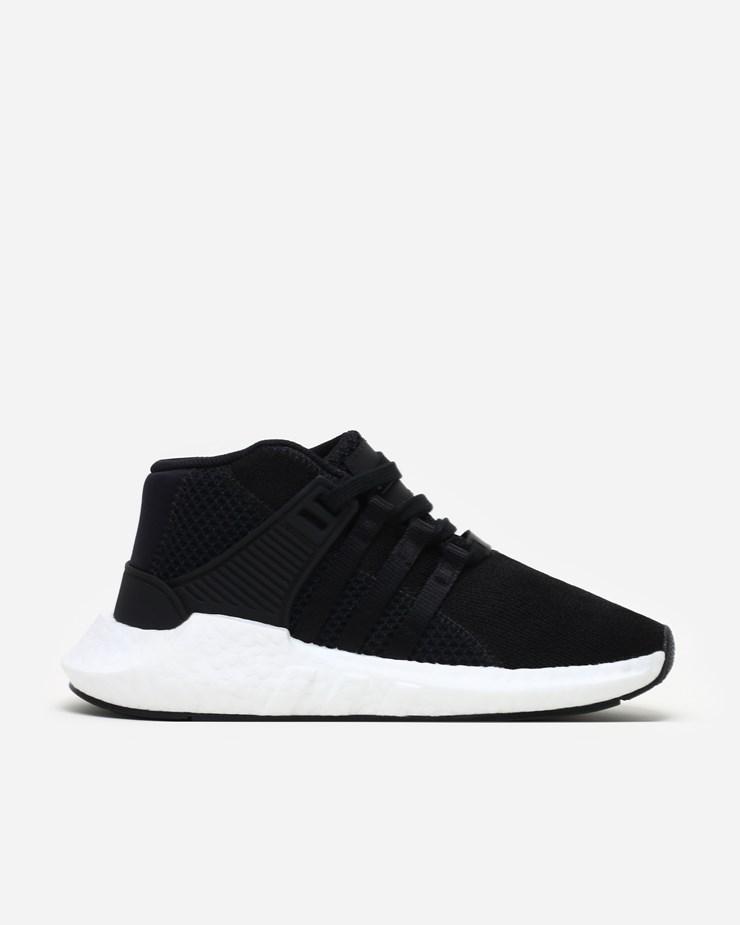 timeless design ebf49 2d693 Adidas Originals Mastermind x Adidas EQT Support 9317 Mid Core Black