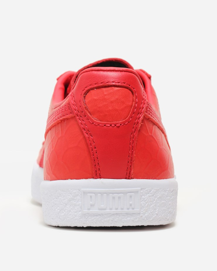 huge selection of b7718 525ff Puma Clyde Premium 361704 003 | High Risk Red | Footwear - Naked