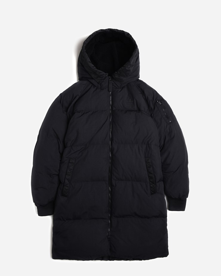 55b6fee0 Adidas Originals Long Bomber BQ7472 | Black Jackets| Clothing ...