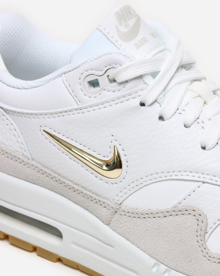 Nike Offers Luxe Air Max 1 Featuring Metallic Gold Swoosh