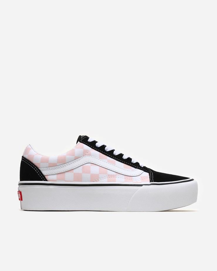 fb9d1e0bb96f Vans Old Skool Platform Black Pink White
