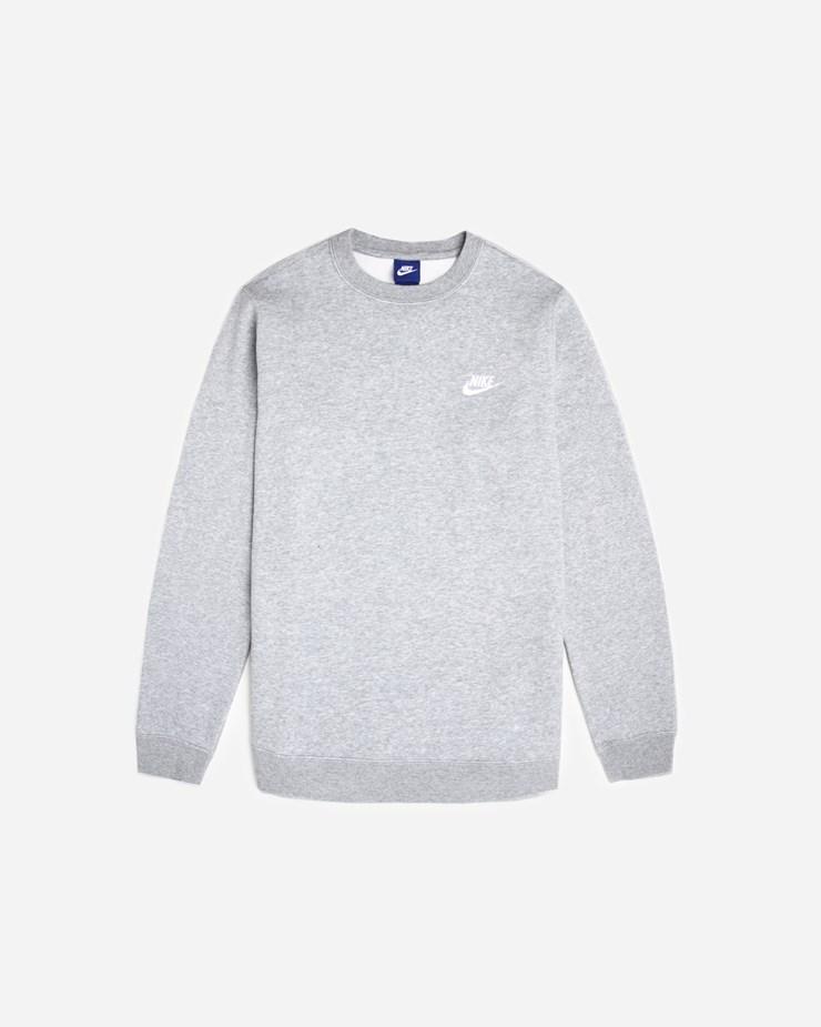 7cc9d90b Nike Sportswear Crew 804340 063 | Dark Grey Heather/White ...