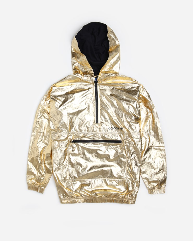 promo code ac3d0 394c1 Adidas Originals Golden Windbreaker Gold Metallic