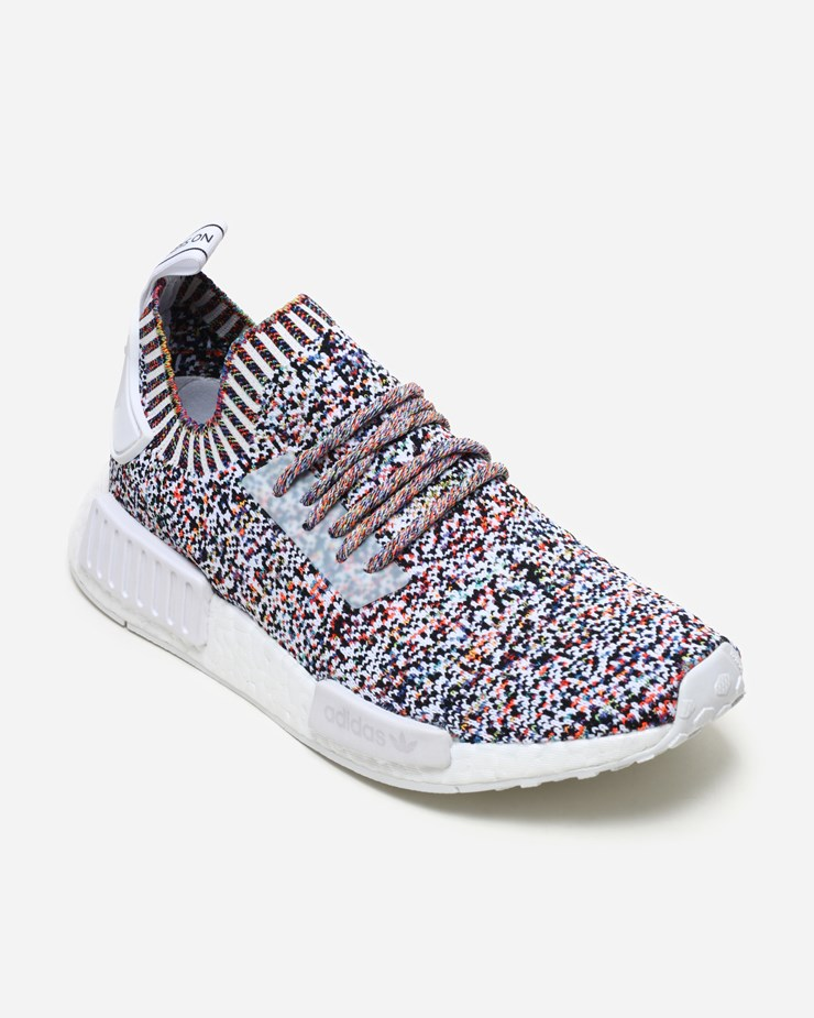 sports shoes 3f7d0 e23c4 Adidas Originals NMD R1 Primeknit 'Color Static' BW1126 ...