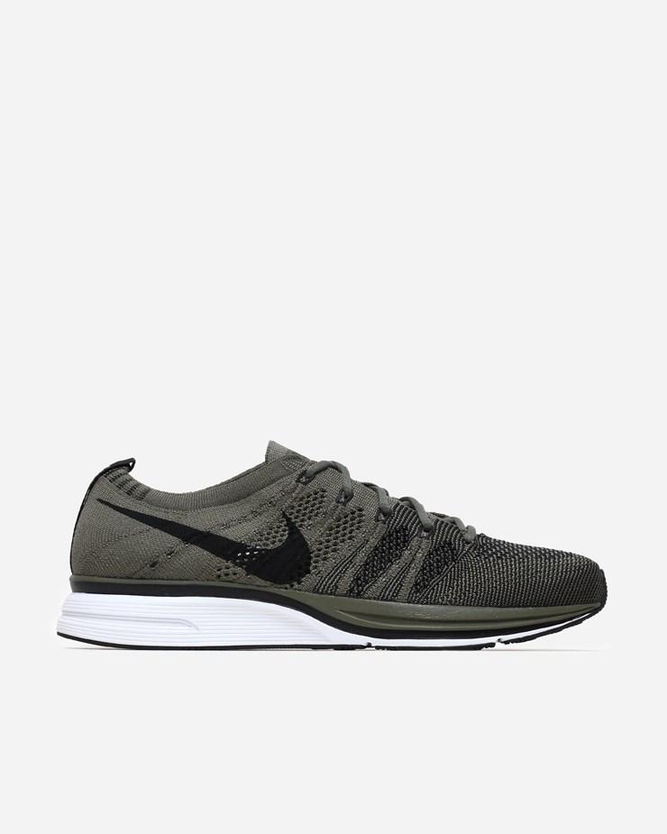 cfbbae424271 Nike Sportswear Flyknit Trainer Medium Olive