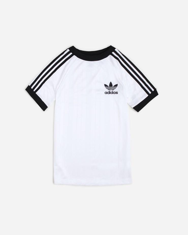 dc0e313b6a04 Adidas Originals SC T-shirt Football White Black