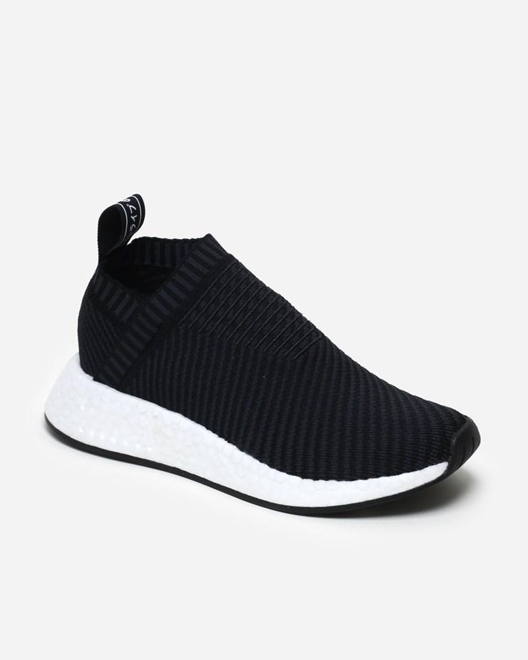 huge selection of f868d ad685 Adidas Originals NMD CS2 Primeknit CQ2372   Core Black   Footwear ...