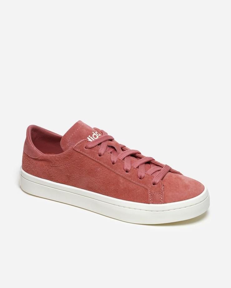 brand new 5f898 cfd07 Adidas Originals Court Vantage W CQ2616  Ash Pink  Footwear