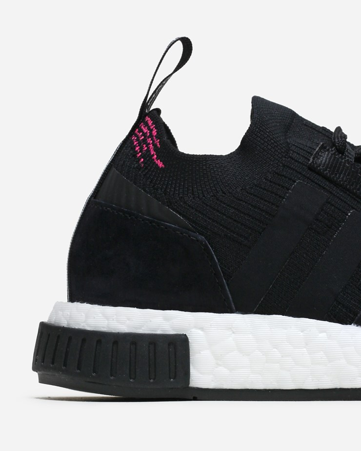 adidas Originals NMD Racer Primeknit Sneakers In Black CQ2441