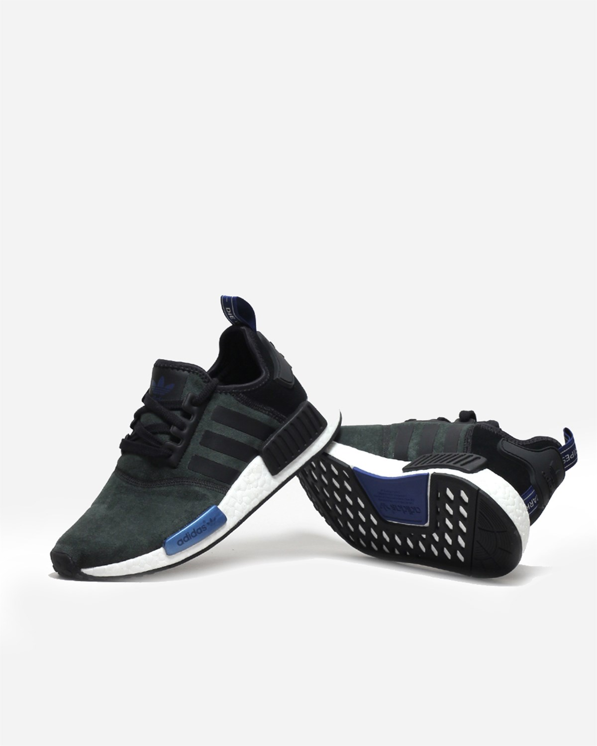 NMD R1 PK Winter Wool Core Black Shoes Artemis Outlet