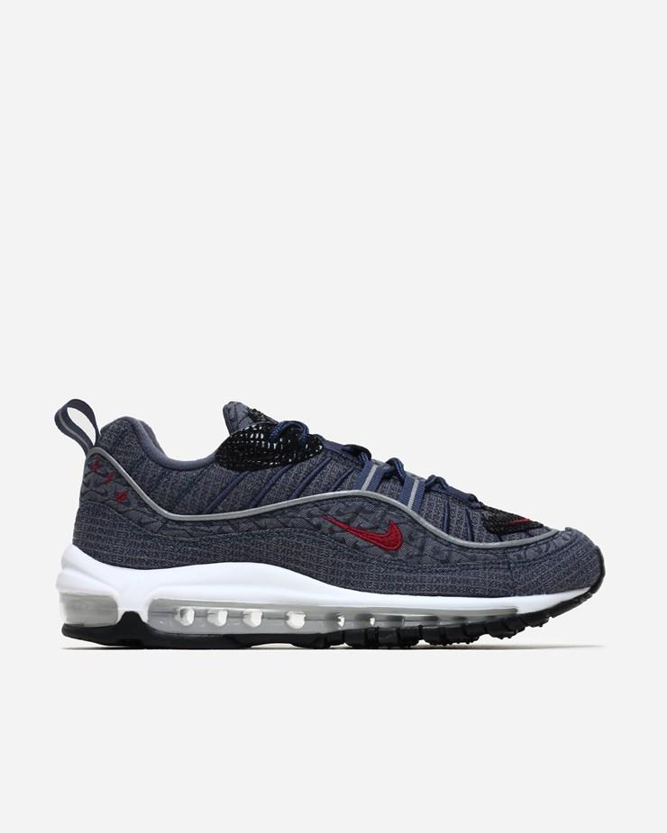 purchase cheap aac9c b38fc Nike Sportswear Air Max 98 QS 924462 400 400 400 Thunder BleuTeam Rouge  451ac8