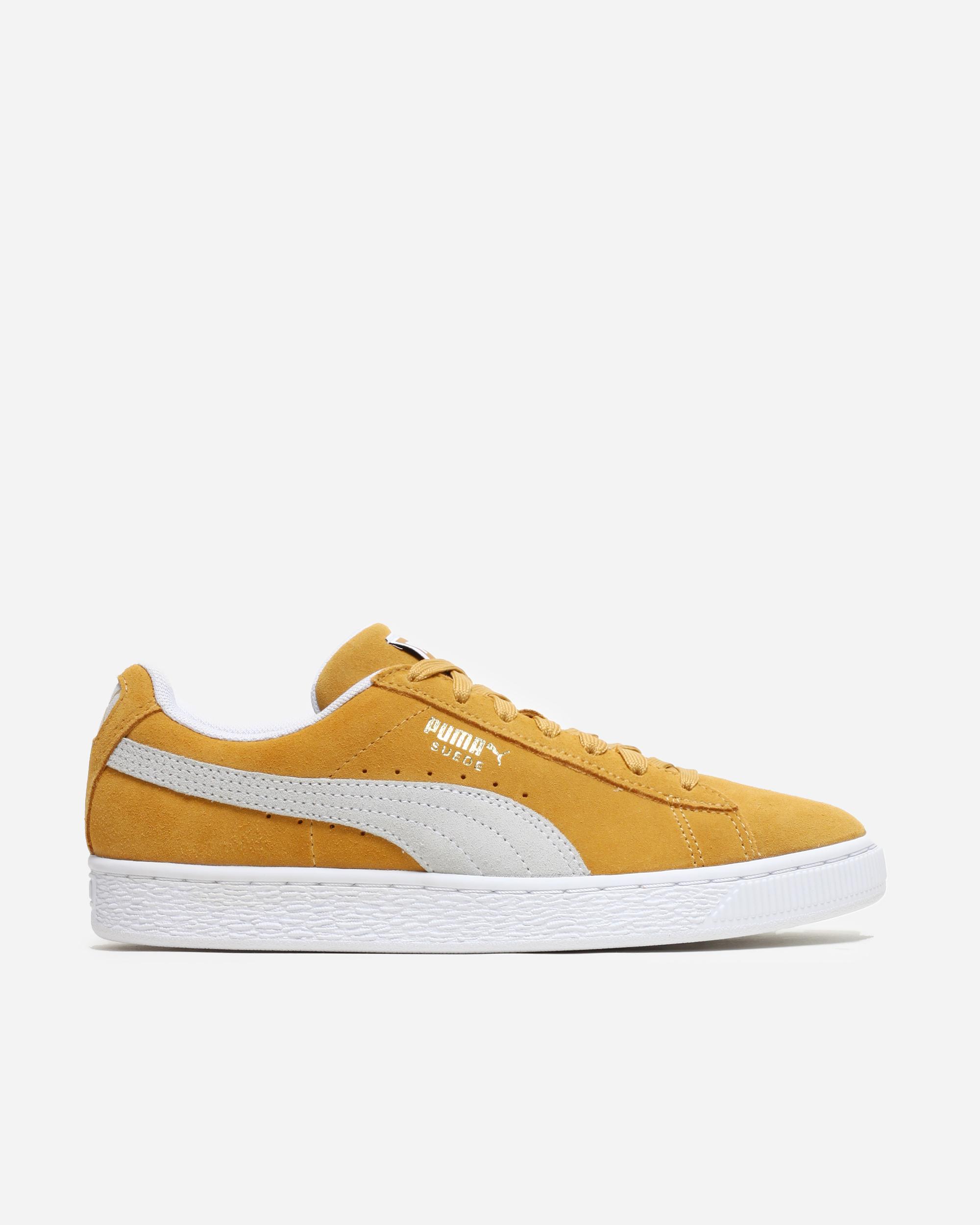 Puma Suede Classic Honey Mustard/White