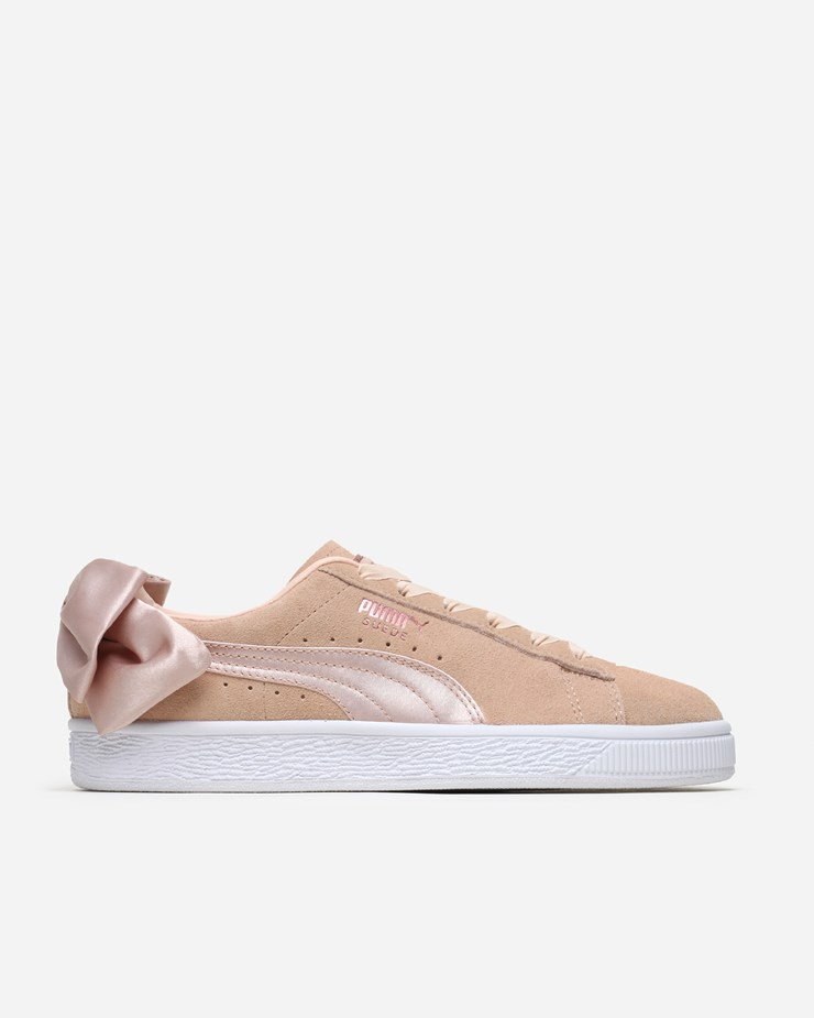 brand new 364ce 51d23 Puma Suede Bow 'Valentine' 367609 001 | Cream Tan/White ...
