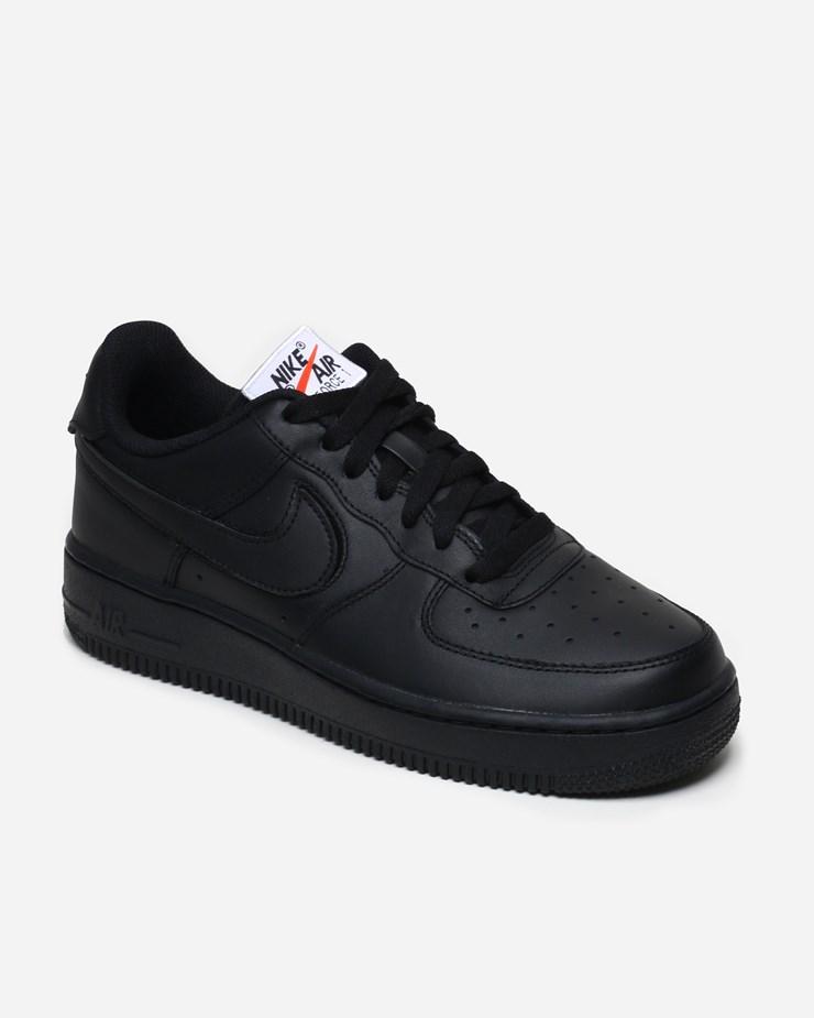 Nike Nike Air Force 1 07 Velcro Swoosh Pack Qs Black
