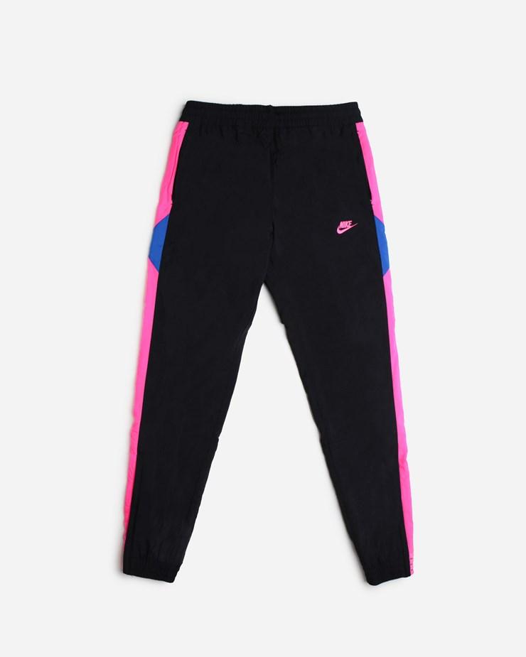 62e49a896ad94 Nike Sportswear Woven Pants AO7665 010 | Black/Hyper Pink Pants ...