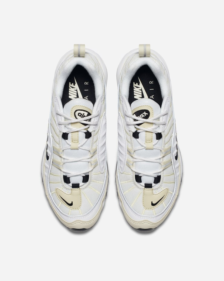huge selection of 27827 6434c Nike Sportswear Air Max 98 AH6799 102   White Black Fossil ...