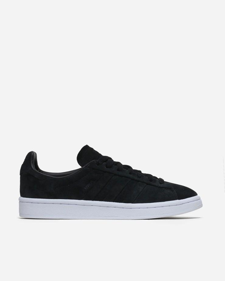 online store 24302 f1930 Adidas Originals Campus Stitch And Turn Core Black
