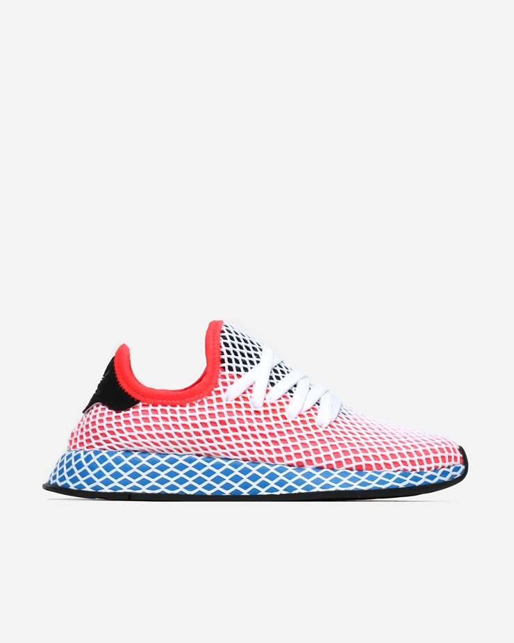 5696ff99767cd Adidas Originals Deerupt Runner Solar Red