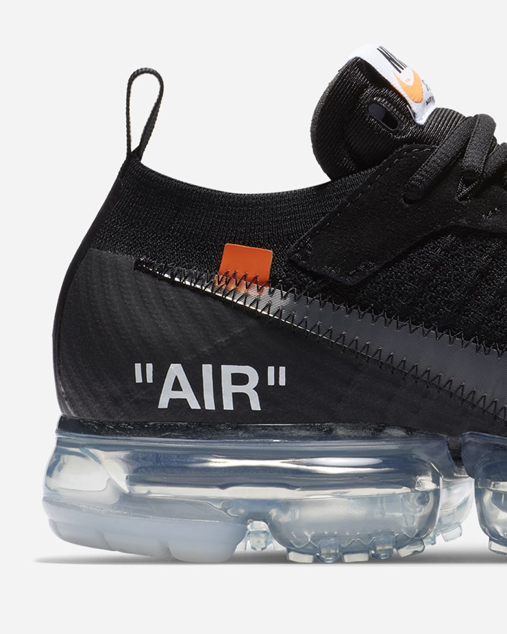 super popular db3c3 9fd88 Nike Sportswear OFF WHITE x Nike Air Vapormax FK Black Clear
