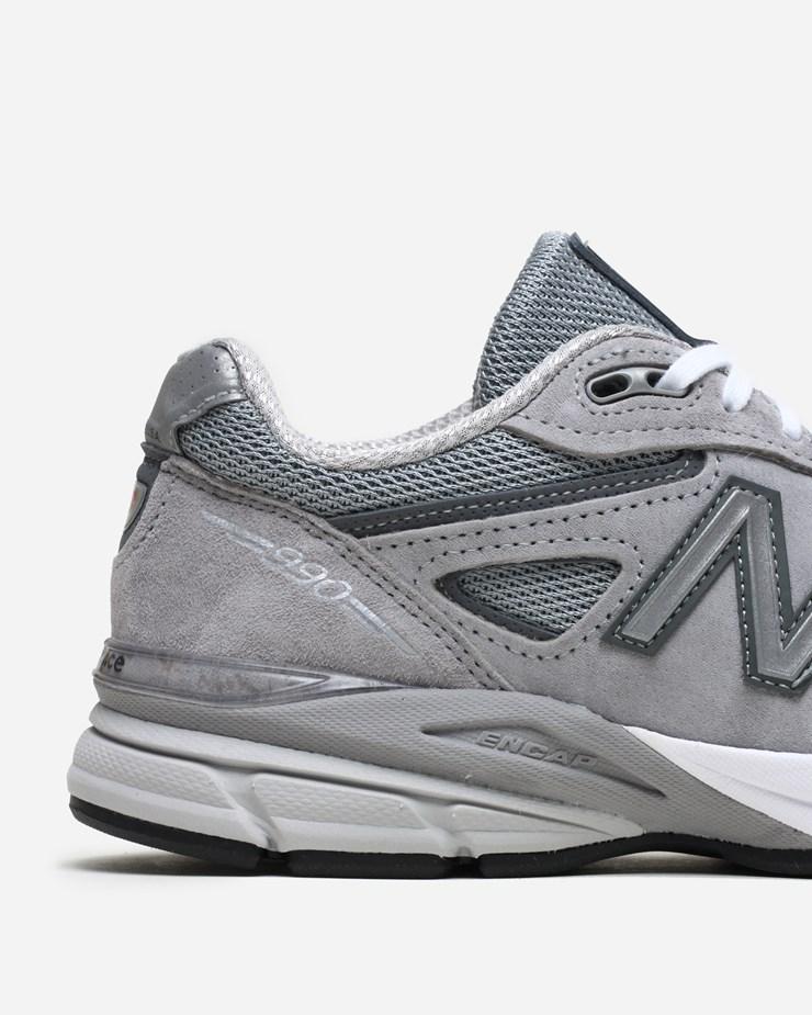 reputable site f8de8 0cc73 New Balance 990GL4 W990GL4 | Grey | Footwear - Naked