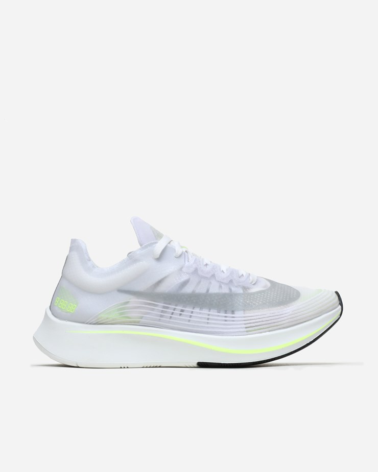 caf12efa893c Nike Sportswear Zoom Fly SP White Volt Glow