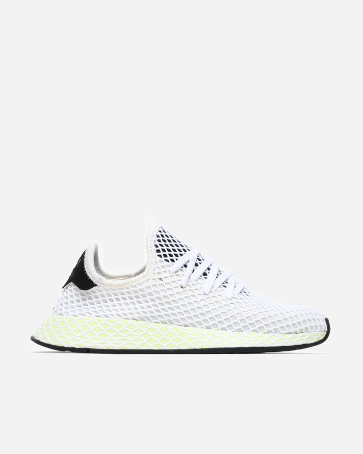 4372333e9fe5e Adidas Originals Deerupt Runner Chalk White