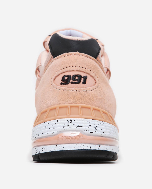 Naked x New Balance 991 Peach Parfait Release Info   SneakerNews.com