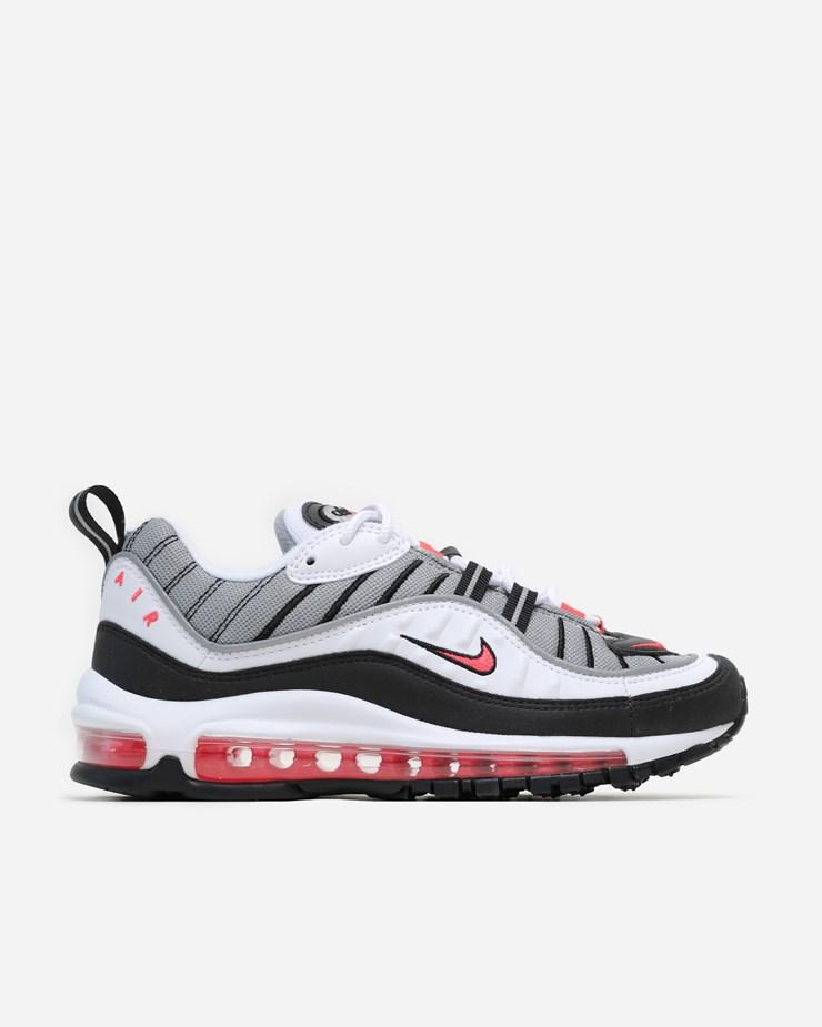 pretty nice 55139 0b301 Nike Sportswear Air Max 98 AH6799 104   White/Solar Red ...