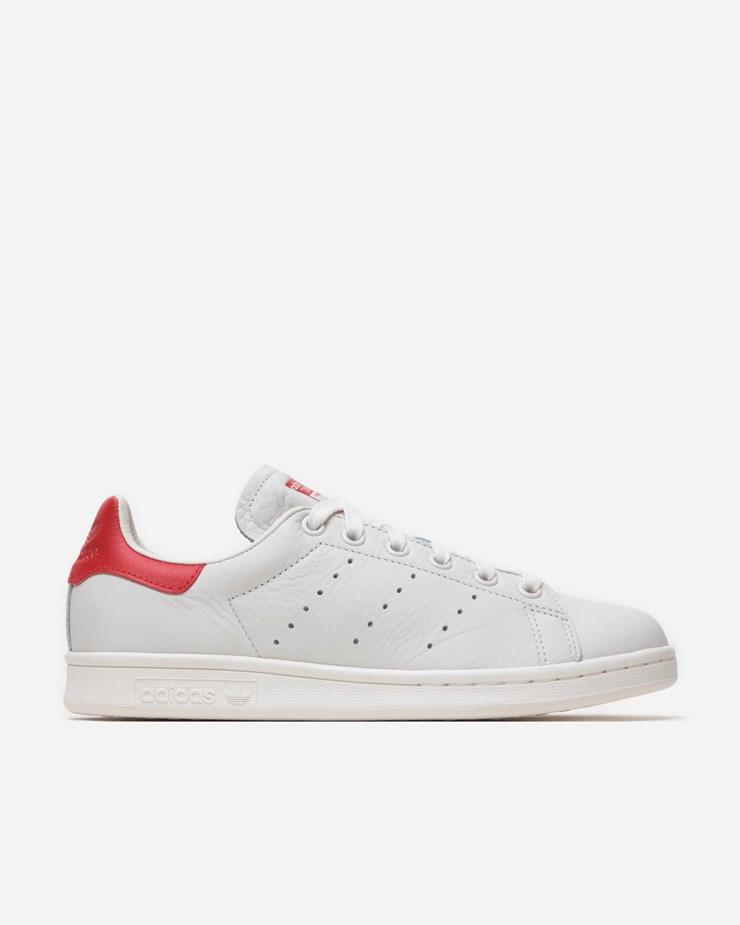 Adidas Stan Smith White/Scarlet