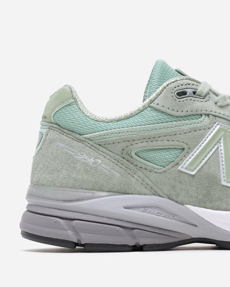 detailed look c9bdd 72b2c New Balance 990SM4 W990SM4 | Silver Mint | Footwear - Naked