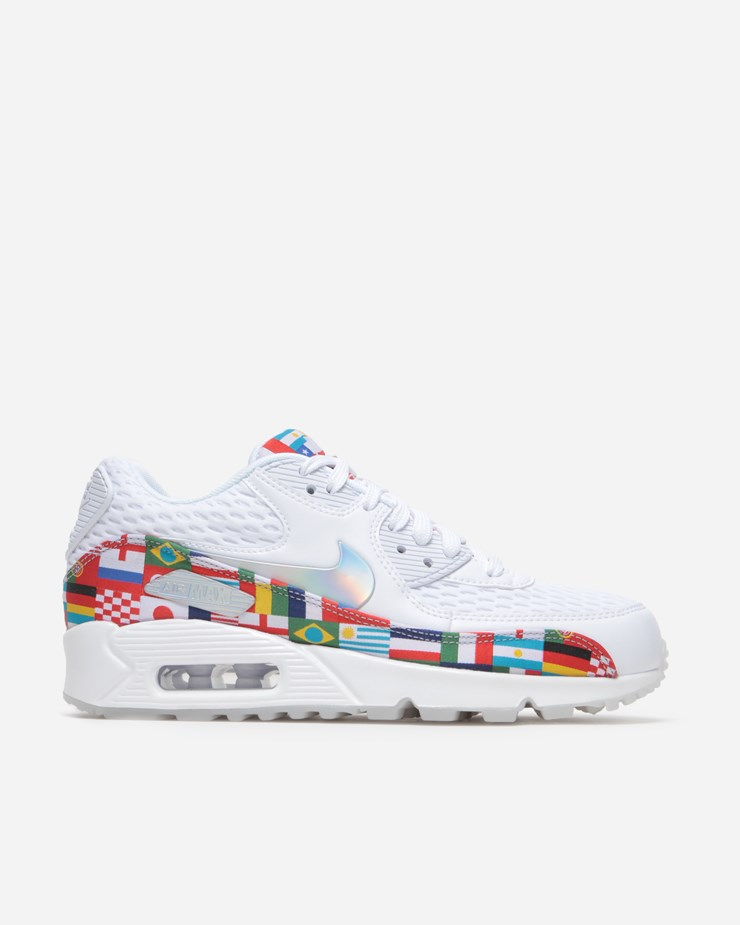 online store 11b3d 50ede Nike Sportswear Air Max 90 NIC QS White Multicolor