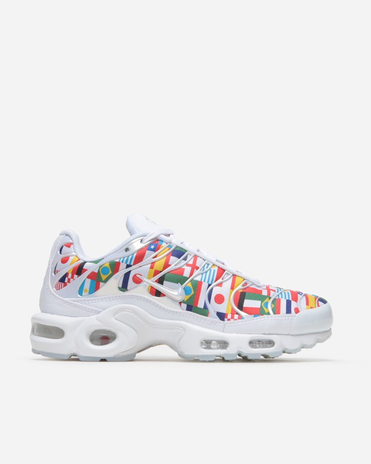 25f3ca40522 Nike Sportswear Air Max Plus TN NIC QS White Multicolor