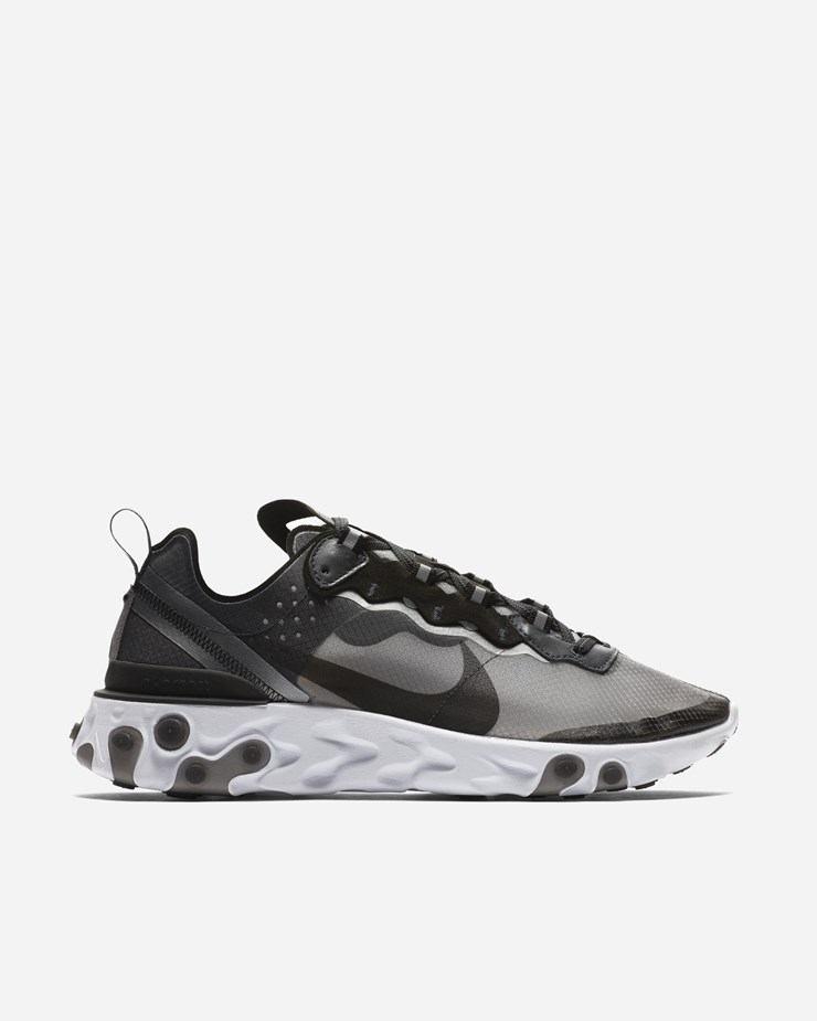 best sneakers cf2db 5c6d8 Nike Sportswear React Element 87 Anthracite Black White