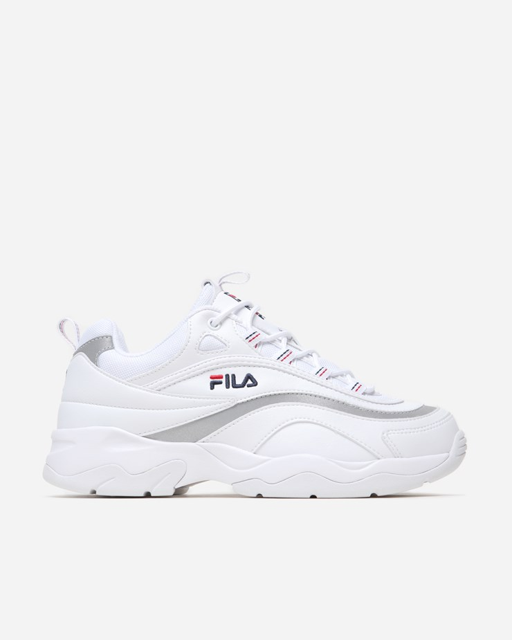 Fila Shoes | Ray Sneakers Whitesilver