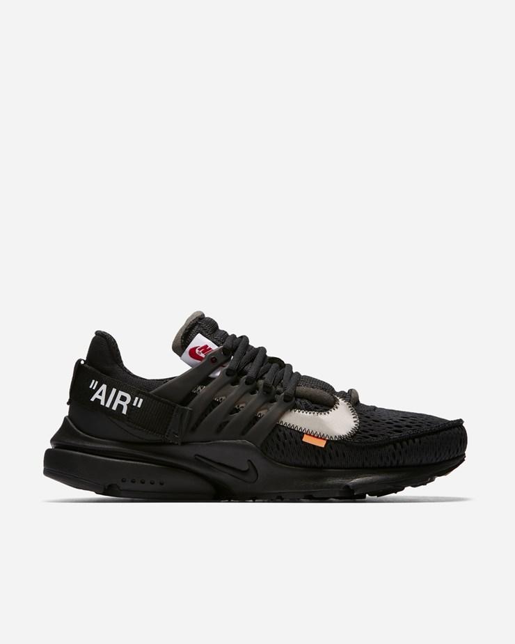 best sneakers 8bb12 3f61c Nike Sportswear OFF WHITE x Nike Air Presto Black White