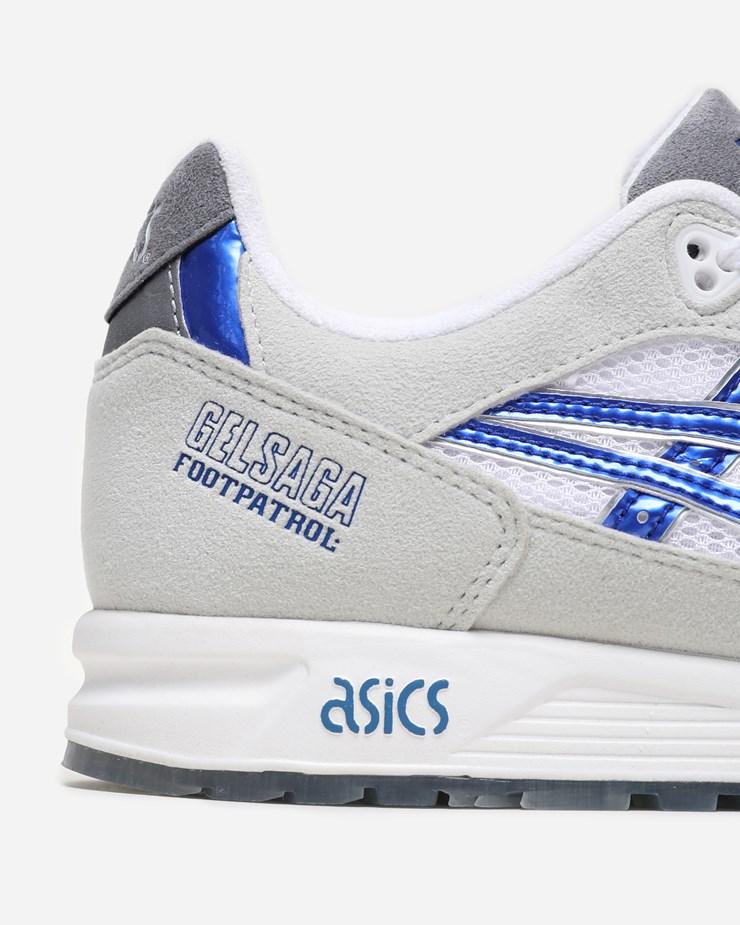 sports shoes f5d96 1f6ed Asics Footpatrol x Asics Gel Saga 1191A059 022   Titanium ...