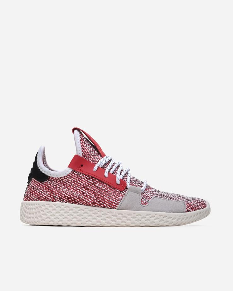 36c145155a320 Adidas Originals Adidas Consortium x PW Afro Tennis HU V2 Scarlet Cloud  White