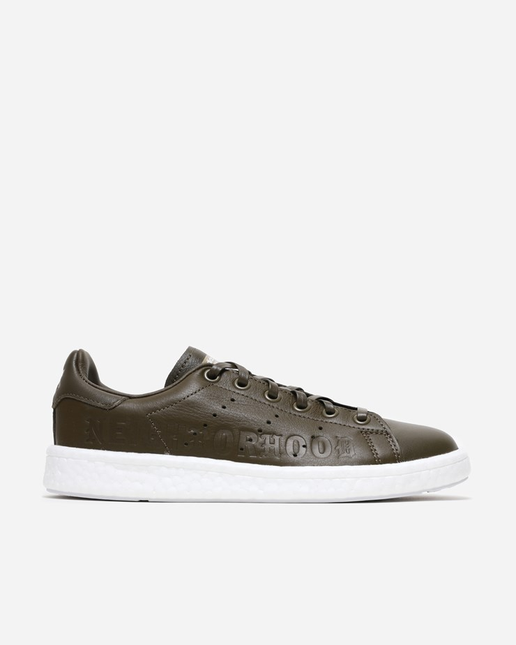 outlet store 6a852 814b6 Adidas Originals Adidas Consortium x NBHD Stan Smith Boost Trace Olive