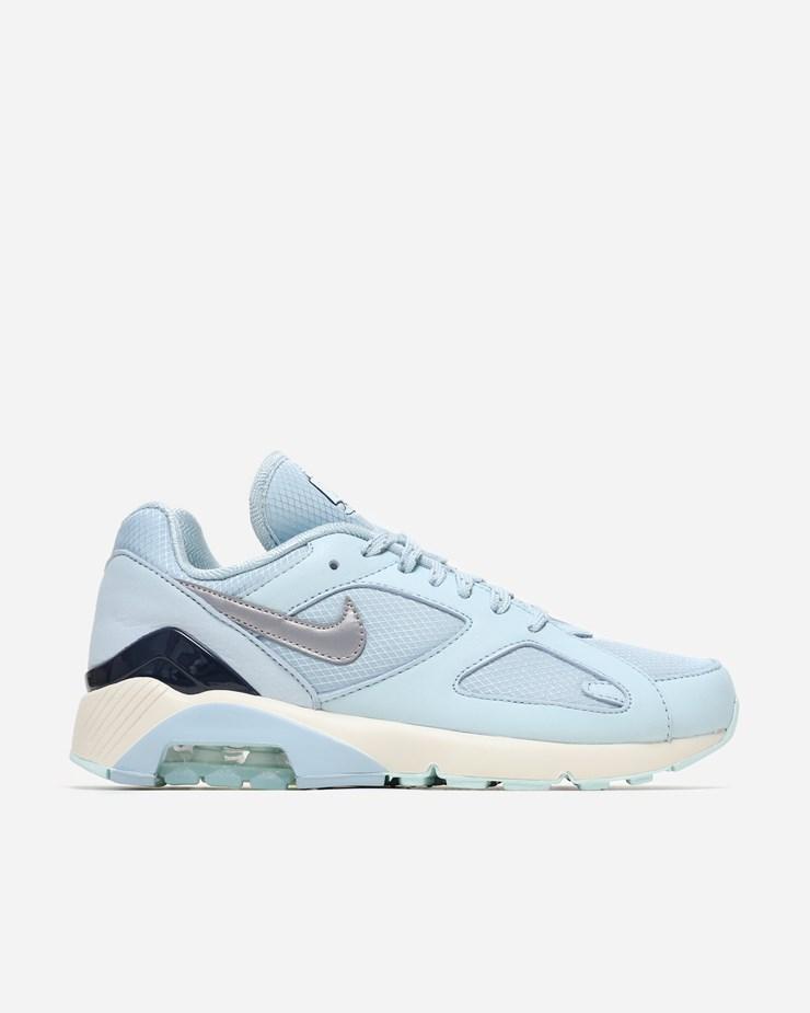 a3c99ee4c0ee24 Nike Sportswear Air Max 180 Ocean Bliss Metallic Silver
