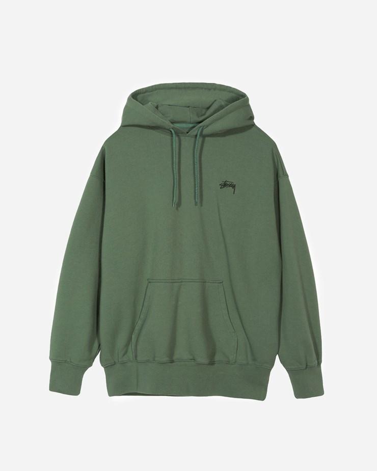 ad3a7c6cb8 Stussy Kira Hoodie 218057 0401 | Green Sweatshirts| Clothing - Naked