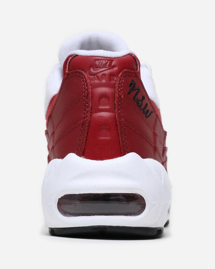 separation shoes dc7b8 a4a8b Nike Sportswear Air Max 95 LX AA1103 606   Red Crush White ...