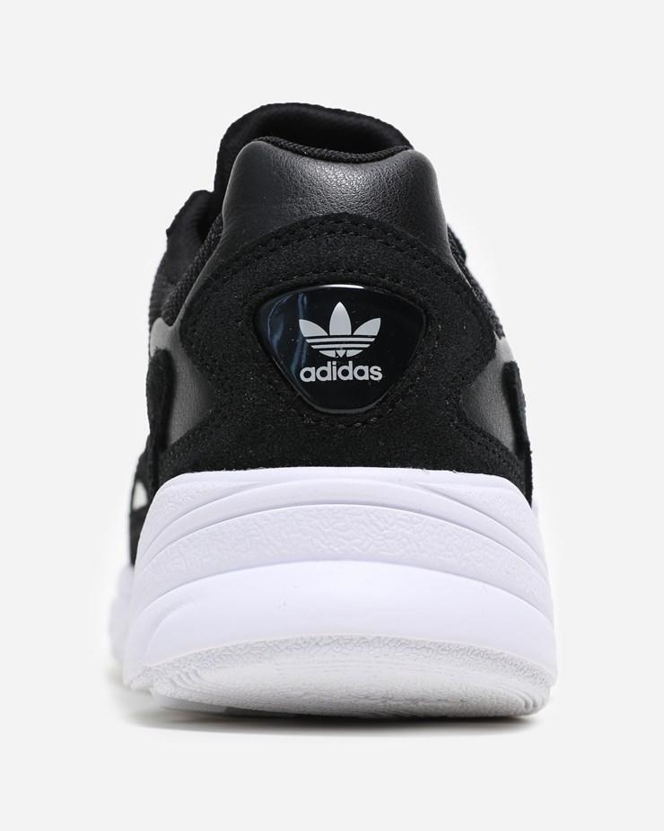 best website efd1b 18792 Adidas Originals Falcon Core Black