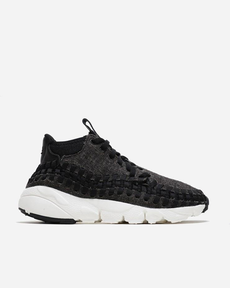 Nike Sportswear Air Footscape Woven Chukka SE Black Black Ivory 42bf67928