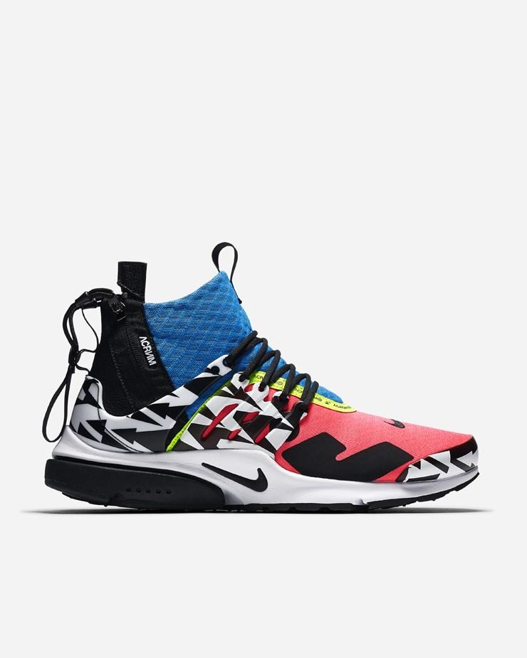 separation shoes 063f1 184cb Nike Sportswear Acronym x Nike Air Presto Mid Racer PinkBlack