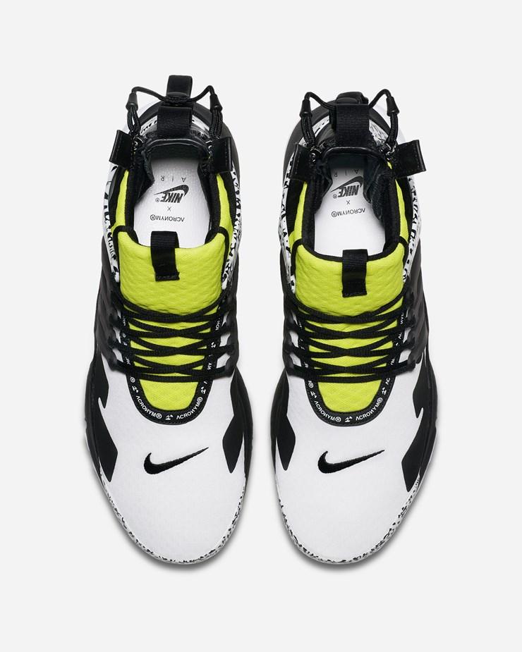 821ae3b9433 Nike Sportswear Acronym x Nike Air Presto Mid AH7832 100