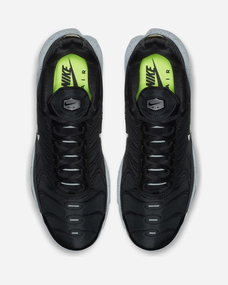 ecdf0f7306 Nike Sportswear Air Max Plus PRM 815994 003 | Black/Matt Silver/Wolf ...