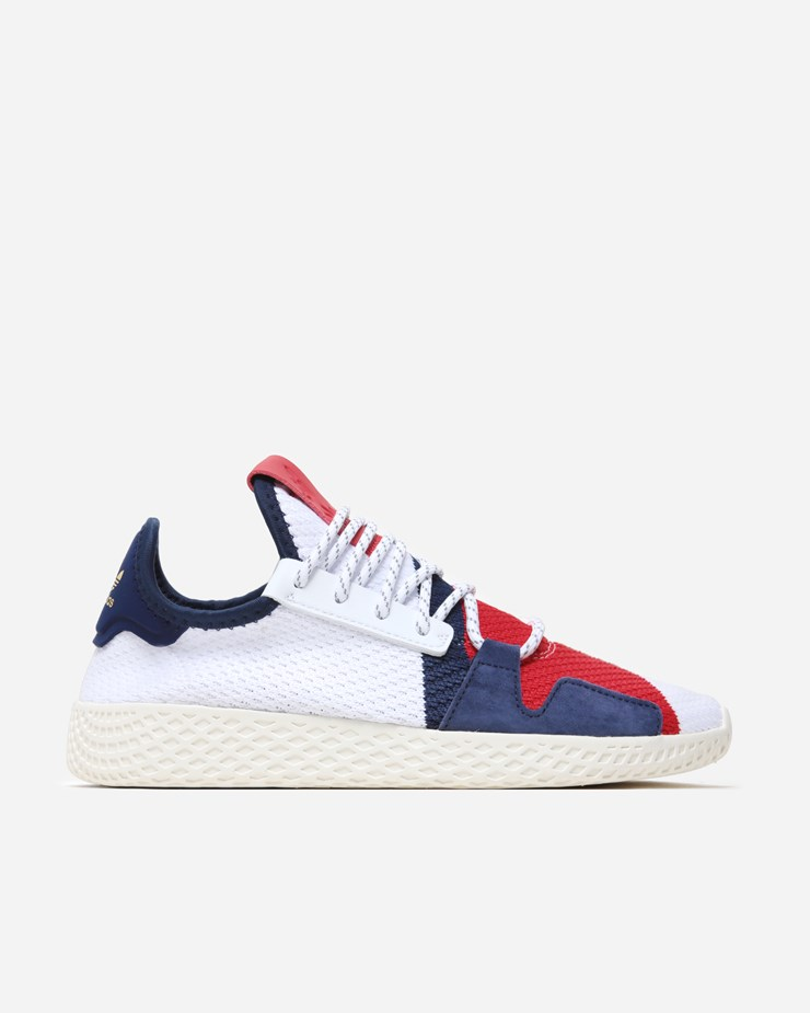 000779a543ebe Adidas Originals Pharrell Williams x Adidas Tennis BBC HU White Scarlet Blue