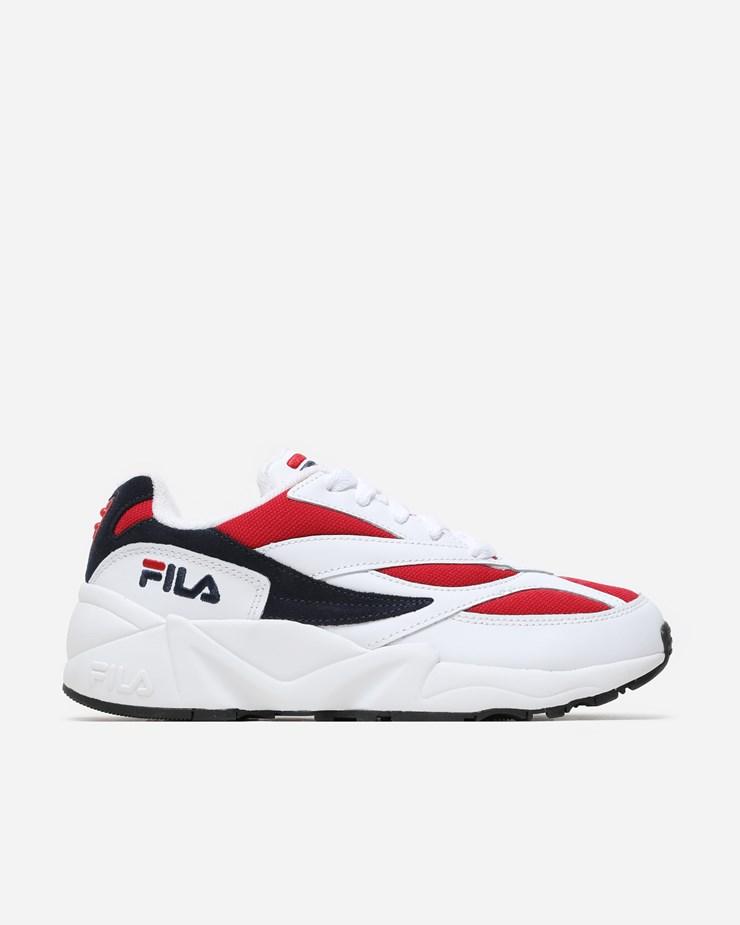 982dda849fda Fila 94 Low White Navy Red