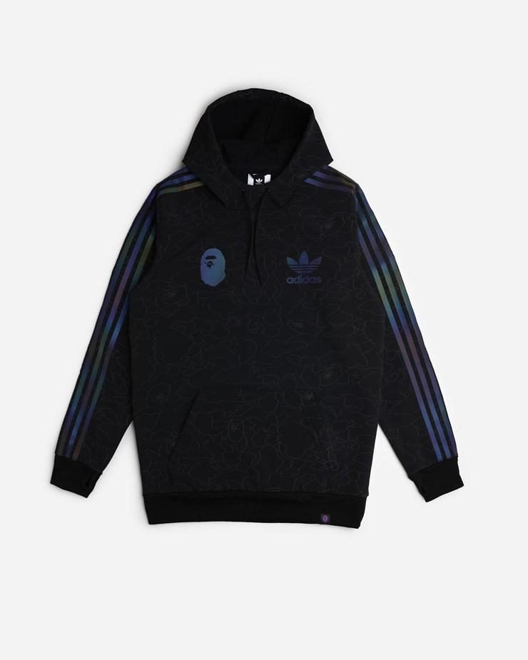 88f38d127 Adidas Originals BAPE x Adidas Consortium Tech Hoodie Black