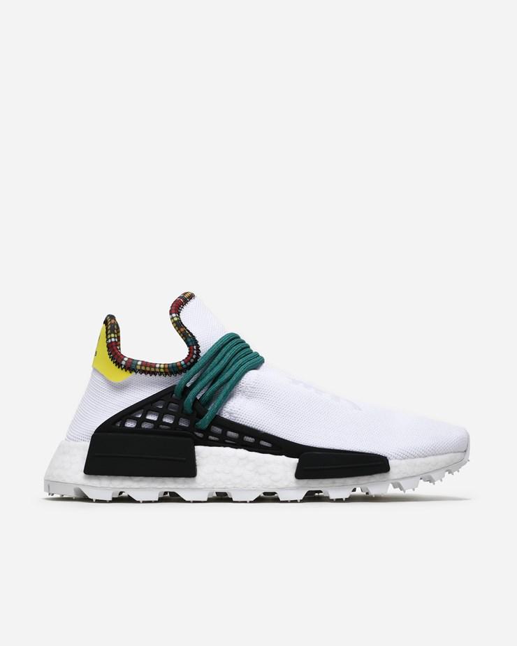 f60777023 Adidas Originals Adidas Originals x PW Solar HU NMD Ftwr White Bold Green